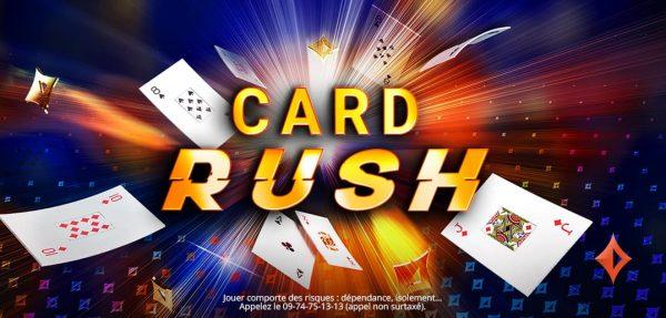Card Rush est de retour sur partypoker.fr