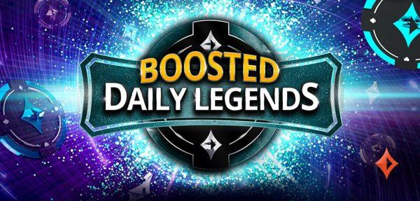 Les Boosted Daily Legends débarquent sur partypoker.fr