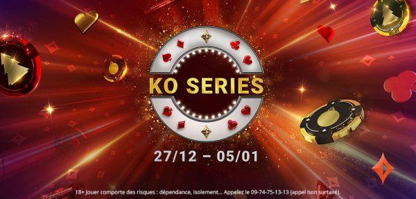 Les KO Series sont de retour sur partypoker.fr avec plus de 1 250 000 € garantis